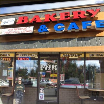 Julia S Bakery Cafe Olympia Wa