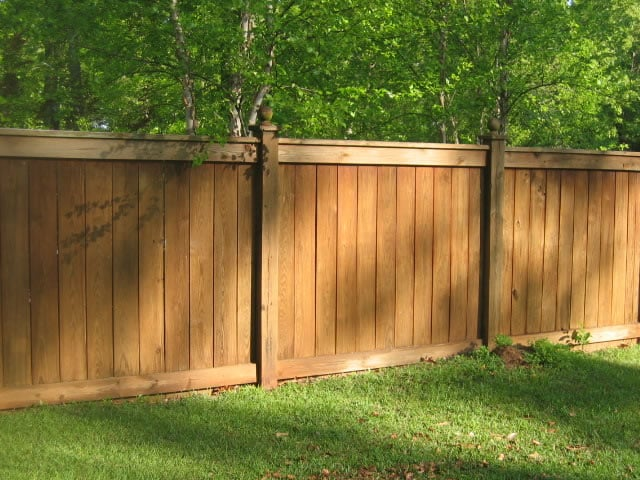 6 foot high classic style with ball tops an elegant for High privacy fence ideas