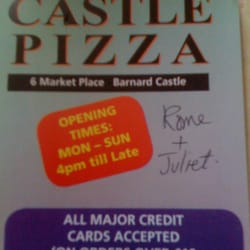 Castle Pizza, Barnard Castle, Durham