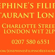 Josephine's Filipino Restaurant London