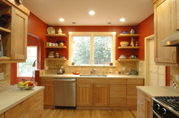 Southwest kitchen in a 1920 s home in Oakland Added new
