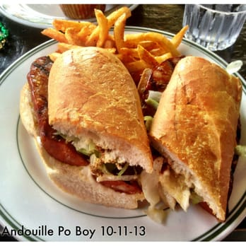 Spicy Andouille Po Boy 10-11-13