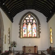 The Lady Chapel - the original mediaeval chancel