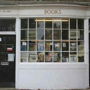 Fosters Bookshop in Chiswick - original bow window shopfront