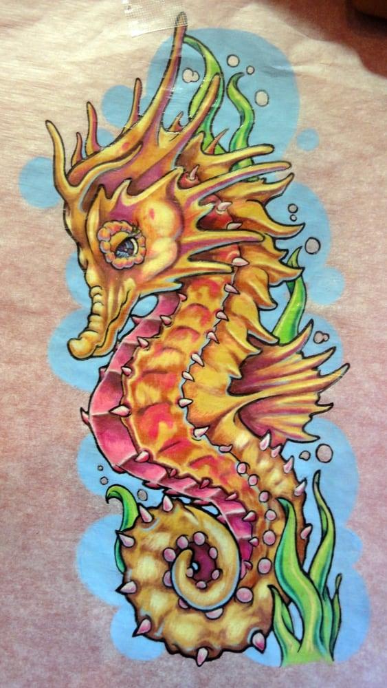 Seahorse Drawing | Yelp