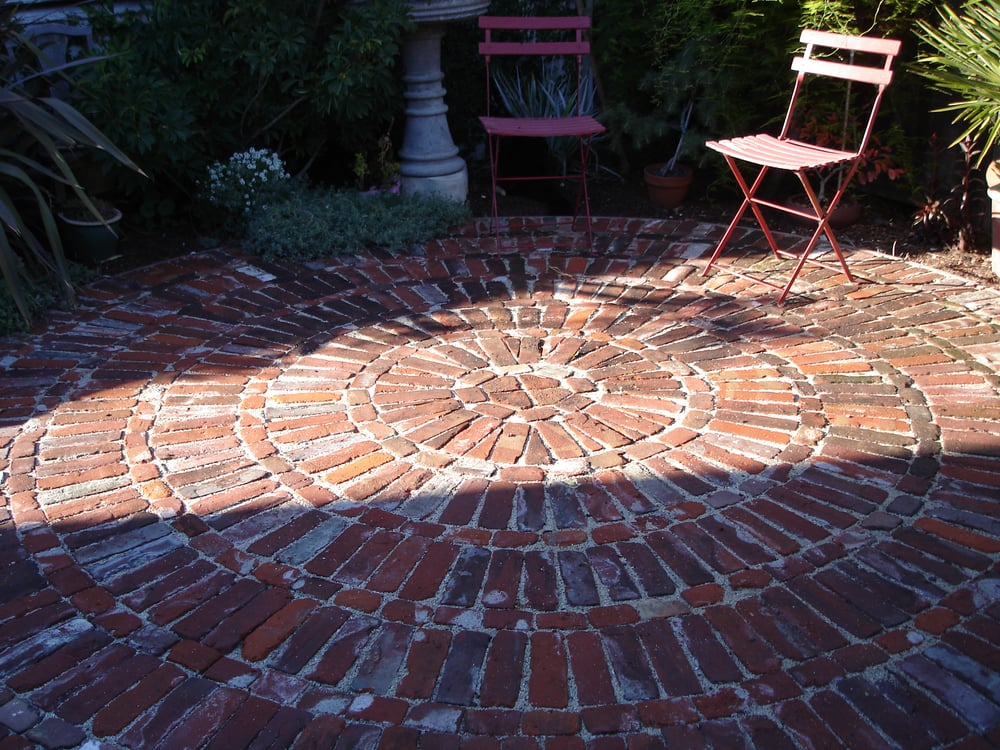 Reclaimed brick patio yelp - Reclaimed brick design ideas ...