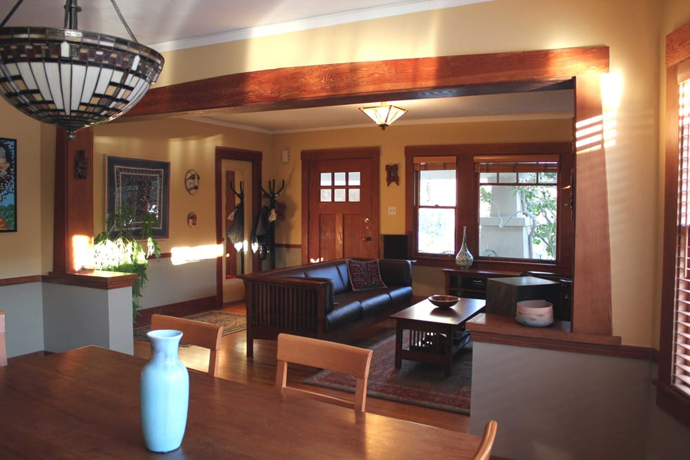 Interior decorating of bungalow style home in berkeley paint furniture lighting selection yelp - Cottage style homes interior ...