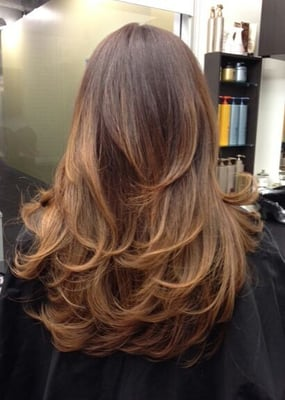 Warm Caramel Ombre by Guy Tang