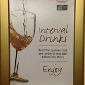 Interval drinks!  Brilliant idea!!!