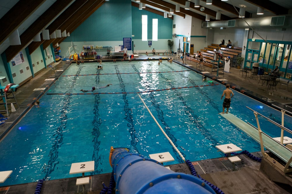Try Out The Slide Diving Board Rope Swing And Hot Tub At Ballard Pool Yelp