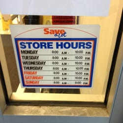 Save-A-Lot hours and Save-A-Lot locations in Canada along with phone number and map with driving directions.