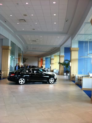 showroom at mercedes benz of west chester yelp. Cars Review. Best American Auto & Cars Review