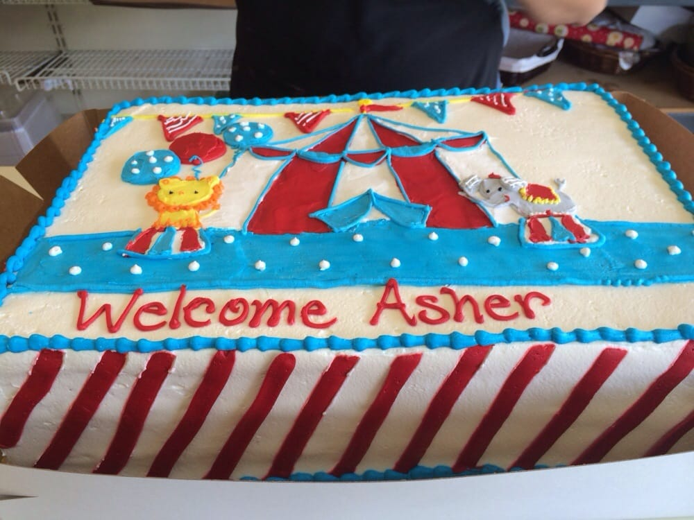 Baby Shower Cakes San Jose ~ In love with my circus themed cake for baby shower