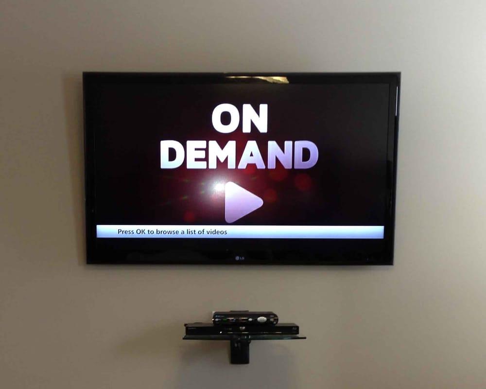 Tv Mount With Floating Shelf Yelp