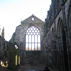Holyrood Abbey (part of the palace)