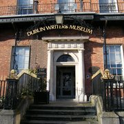 Main Entrance to the Dublin Writer's Museum