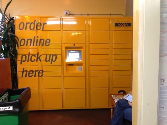 amazon locker inside philz yelp. Black Bedroom Furniture Sets. Home Design Ideas