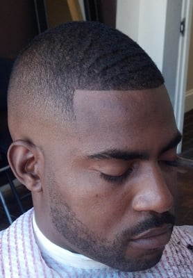 Barber Yelp Advertiser : Bald Fade w/Razor Lineup Yelp