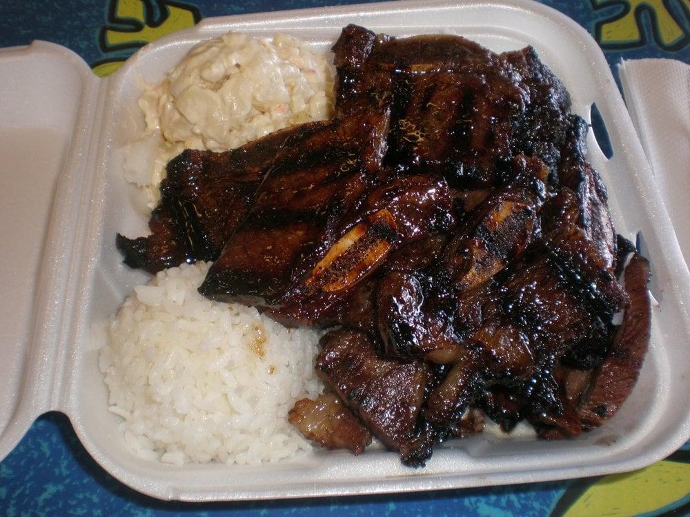 Kalbi & Beef Combo Plate | Yelp
