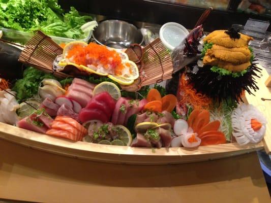 Sushi boat sushi boat