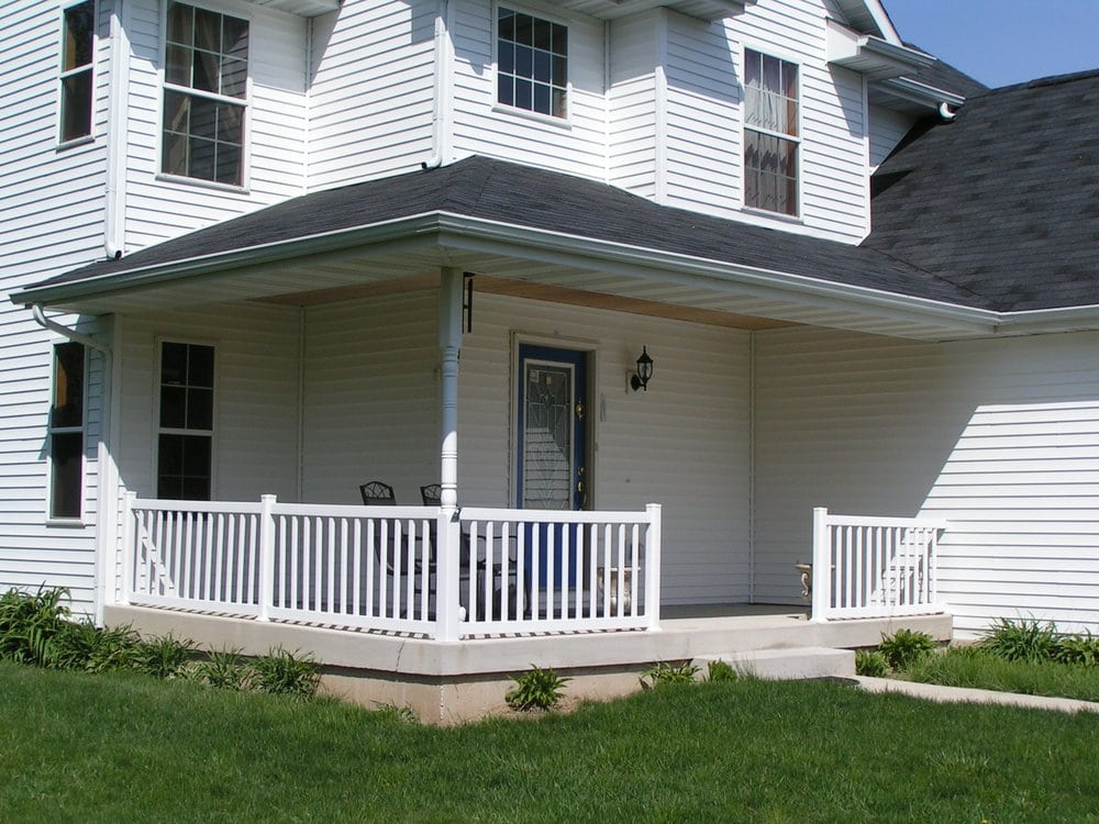 Vinyl Replacement Railings For A Front Porch Yelp