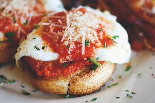 Traditional italian breakfast pastries for Italian breakfast