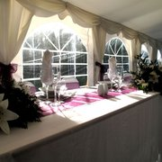 Example of a Wedding Top Table