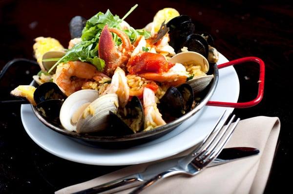 paella seafood paella easy paella easy paella lobster and chorizo