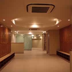 Luxurious changing rooms
