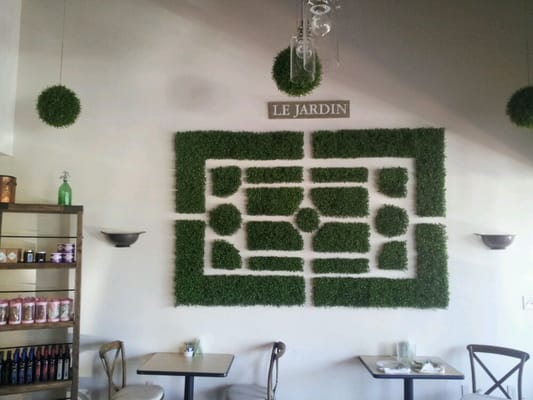 Wall decor-part of the rustic garden theme | Yelp