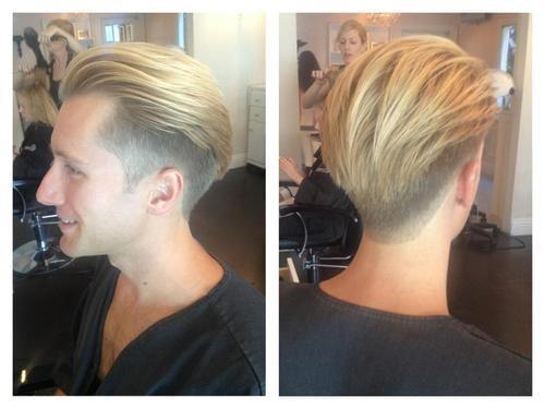 Women Getting Barbershop Clipper Haircut   newhairstylesformen2014.com