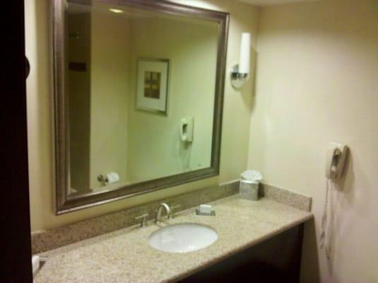 Bathroom sink/mirror : Yelp