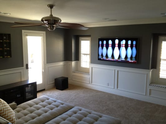 in ceiling speakers and tv 7 1 home theater installation Images ...