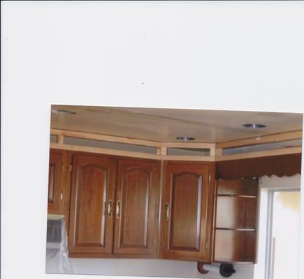 Kitchen Makeover: Replacing a Kitchen Ceiling   Kitchen