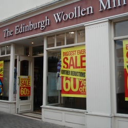 Edinburgh Woollen Mill in Merlin's Walk Shopping Centre, Carmarthen