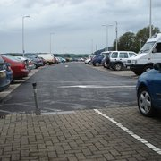Car Park beside Merlin's Walk Shopping Centre, Carmarthen