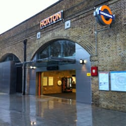 Hoxton Overground Station, London