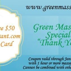 Green Massage Downtown