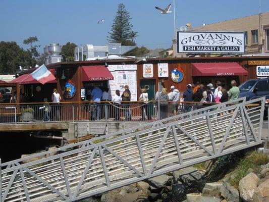 for Giovanni s fish market
