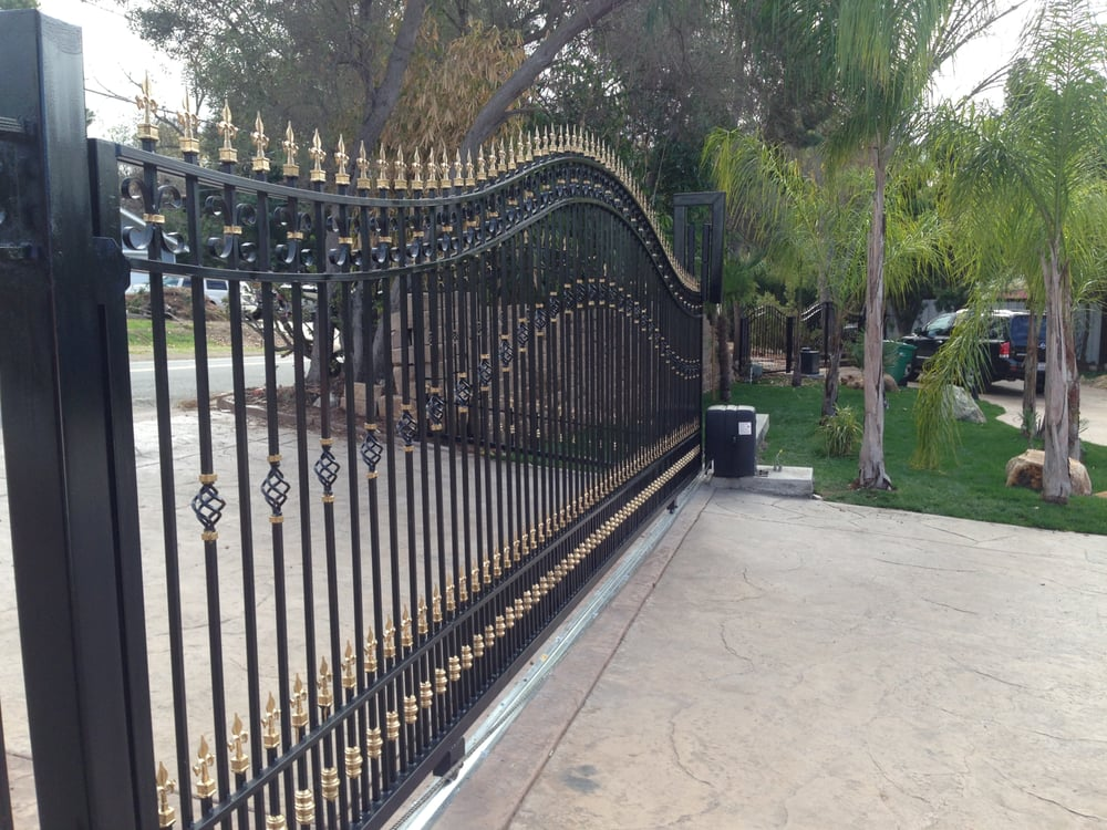 Sliding Driveway Gates And Automation Yelp
