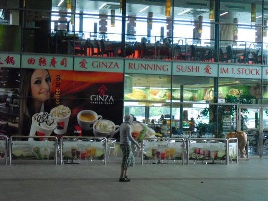 ginza running sushi asiatisches restaurant. Black Bedroom Furniture Sets. Home Design Ideas