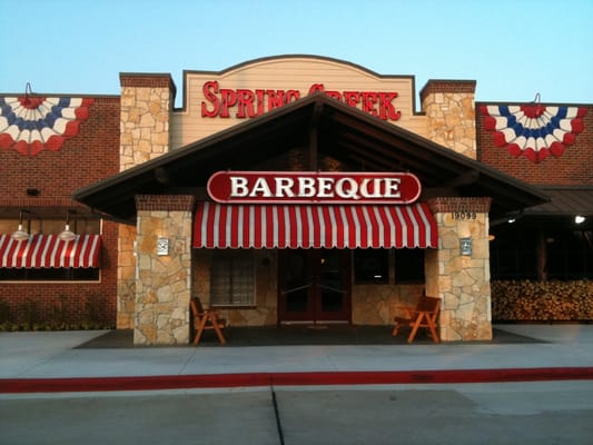For a Spring Creek Barbecue location, this is one deserves 5 stars! I came here with a buy one dinner, get one free coupon. I ordered the beef dinner plate with unlimited sides (potato salad, coleslaw, mac & cheese, and bbq beans). My boyfriend ordered the combination dinner plate with beef and ribs. The beef is tender and juicy.3/5(58).