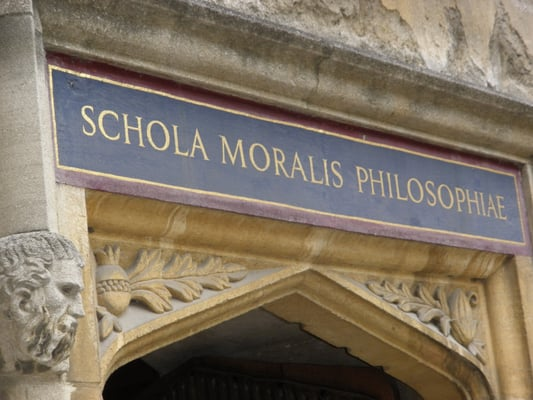 door to philosophy section