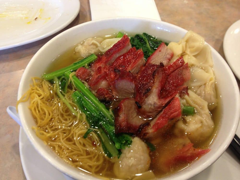 BBQ pork & wonton noodle soup | Yelp