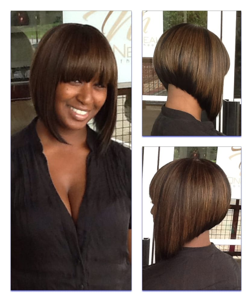 Toni Neal Stylist Full Sew In Inverted Bob Yelp