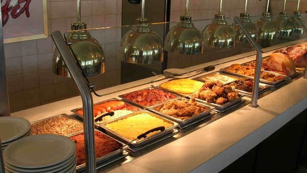 Carving station buffet american traditional west for Fish buffet near me