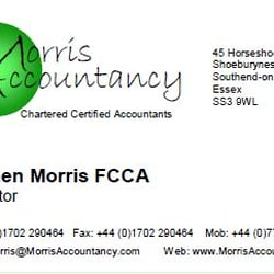 Morris Accountancy, Southend-on-Sea