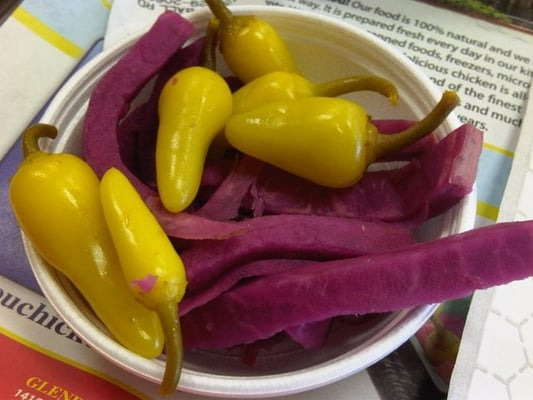 Pickled Chili Peppers Recipe — Dishmaps
