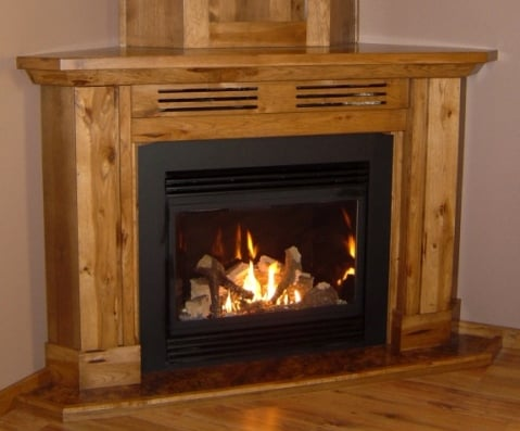 corner fireplaces corner gas fireplace
