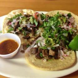 Tacos de lengua (beef tongue tacos) by Lorena B.